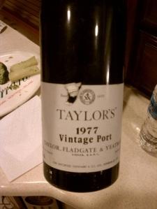 1977 Taylor's Vintage Port
