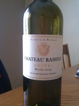 2009 Chateau Rahoul Bordeaux
