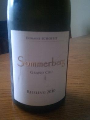2010 Domaine Schoffit Sommerberg Reisling