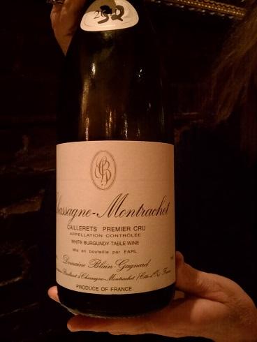 2010 Chassange-Montrachet Domaine Blain-Gagnard