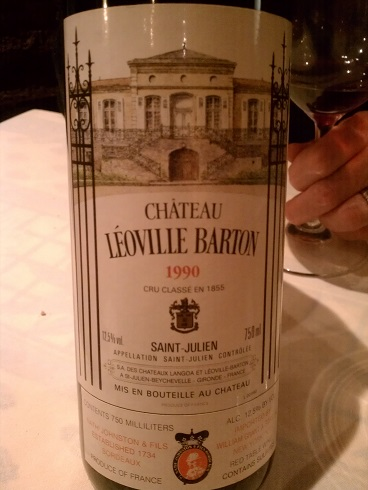 90 Chateau Leaoville Barton