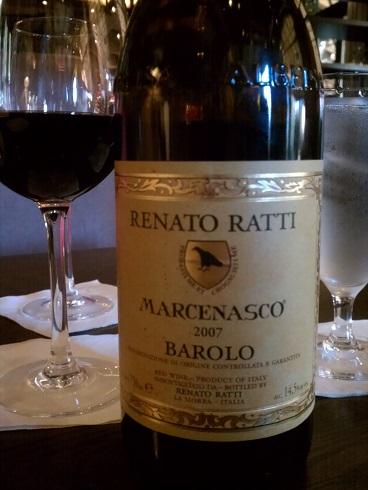 2007 Renato Ratti Barolo Marcenasco